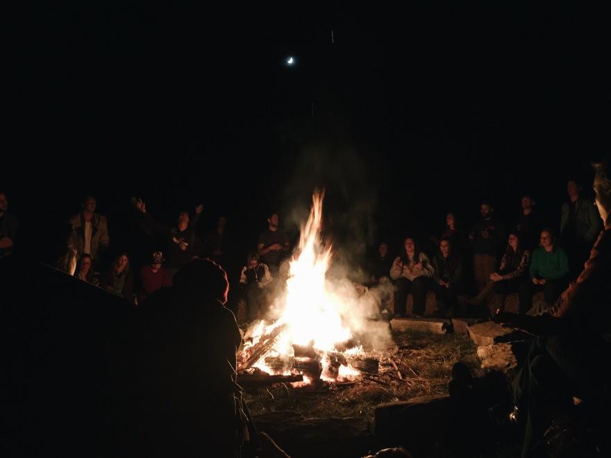 Bonfire Thoughts | Green Mug Adventures